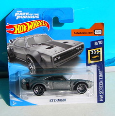 Hot Wheels HW SCREEN TIME The Fate Of The Furious Ice Charger 2017 : Bonneville Salt Flats - 1 Of 14 (Kelvin64) Tags: hot wheels hw screen time the fate of furious ice charger 2017 bonneville salt flats