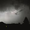 Lightning at 1am (Tmber92) Tags: lightning sky night nightsky dark blackandwhite bw monochrome clouds skyporn tree silhouette window skyline nightime weather storm 1am minolta 24mm sonyalpha f28