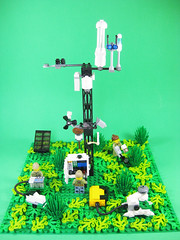 Environmental Research Station (marathontomay) Tags: lego licor science scientific