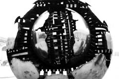 Sphere (albireo 2006) Tags: blackwhitephotos blackandwhite blackandwhitephotos blackwhite bw bn vatican vaticano rome roma arnaldopomodoro cortiledellapigna