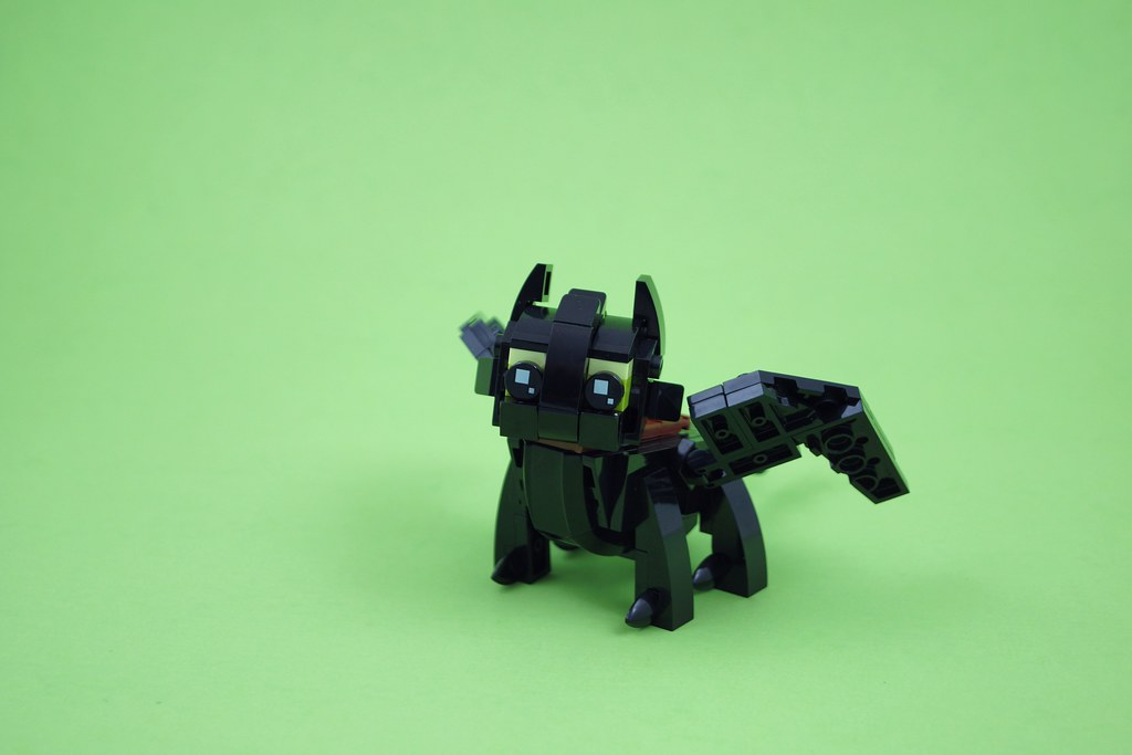 how to train your dragon lego toothless