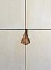 Detail (Col_in_Devon) Tags: white limingwax birchplywood plywood asymmetrical cupboard doors recessedhandle handle recessed grain wood