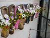 Clogs (dynode.nl) Tags: marken holland touristdestination houses clogs flowers