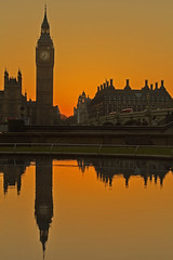 """""""Red Ben"""" (Westminster, London, United Kingdom) (AndreaPucci) Tags: london uk sunset westminster bigben thames bridge housesofparliament andreapucci"""
