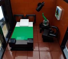 Lava House MOC bedroom (betweenbrickwalls) Tags: lego afol moc house home architecture interior design
