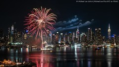 Carnival Horizon Fireworks (20180523-DSC07119) (Michael.Lee.Pics.NYC) Tags: newyork fireworks hudsonriver weehawken newjersey hamiltonpark aerial midtownmanhattan night longexposure carnivalcruiseline horizon timessquare esb empirestatebuilding architecture cityscape skyline sony a7rm2 fe24105mmf4g