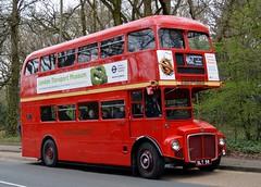 RM1 SLT56 (PD3.) Tags: rm1 rm 1 slt56 slt 56 aec routemaster surrey museum brooklands lbpt cobham annual bus buses coach spring gathering preserved vintage preservation trust 2018 london transport weybridge
