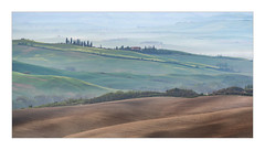 I Colori Della Val d'Orcia (W.Utsch) Tags: tuscany toscana italia structures colors landschaft pienza orcia panorama morning soft