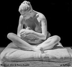 Mother and Child by Paddy Campbel (danilocolombo69) Tags: scultura marmo madre figlio bianco e nero pietrasanta nikonclubit danilocolombo danilocolombo69