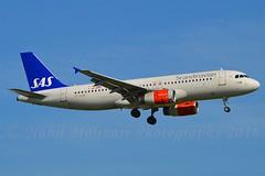 """Randver Viking"" SAS Scandinavian Airline System OY-KAM Airbus A320-232 cn/2911 @ Kaagbaan EHAM / AMS 06-06-2016 (Nabil Molinari Photography) Tags: randverviking sas scandinavian airline system oykam airbus a320232 cn2911 kaagbaan eham ams 06062016"