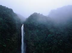 akaka (MitchBoudreau) Tags: waterfall filmgrain film filmphotography mamiya645 fujifilm fujichrome fuji landscape mood landscapephotography water blue hawaii akaka beautiful
