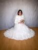Winter bride (blackietv) Tags: bride bridal white wedding romantic gown dress ruffles petticoat fullskirt tgirl transvestite crossdresser crossdressing transgender
