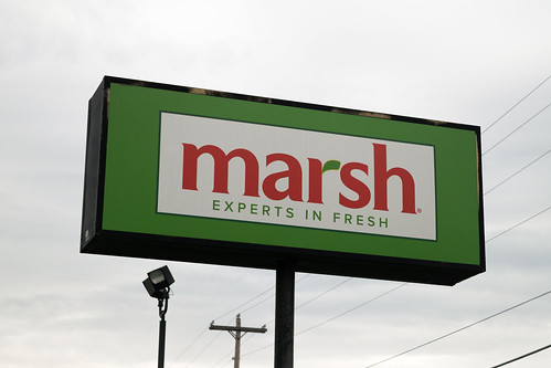 Marsh grocery store...