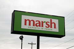 Marsh grocery store... (Nicholas Eckhart) Tags: america us usa anderson indiana in 2018 retail stores grocerystore market supermarket former closed vacant empty shuttered marsh