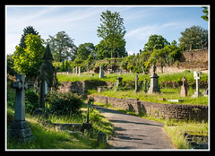 Rock Cemetery 1 (veggiesosage) Tags: nottingham aficionados gx20 rockcemetery churchcemetery cemetery graveyard tamronaf1750mmf28xrdiiild