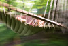 Through tumultuous waters we sailed on our pirate ship (trois petits oiseaux) Tags: kids hammock swing motion blur childhood