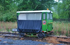 I see George Jones has moved to the rails. (Joseph S. Randall) Tags: patriotrail georgianortheasternrailroad gnrr blueridgescenicrailway johndeere motorcar lnmurphybranch mineralbluffga georgia