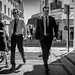 Cannes Film Fetival 2018 #2 - Men in Black (Franck_Michel) Tags: suit black security gard white street shadow sun glasses badge