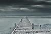 The Storm (wagnerchristian.com) Tags: pier newzealand coast storm postprocessing sea dark blue waves water horizon