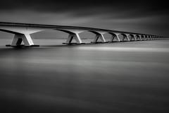 Zeelandbrug (Andi Campbell-Jones) Tags: zeelandbrug holland netherlands andi campbelljones photography mono long exposure water bridge zeeland