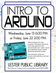 Intro to Arduino (Lester Public Library) Tags: 365libs lesterpubliclibrary lpl librariesandlibrarians library libraries lesterpubliclibrarytworiverswisconsin libslibs libraryprogram summerreading summerreadingprogram technology arduino digitalliteracy literacy literacyproject familyprogram publiclibrary publiclibraries coding code computers computerscience wisconsinlibraries readdiscoverconnectenrich