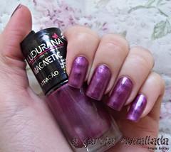 Esmalte Magnético Atração, da Ludurana. (A Garota Esmaltada) Tags: agarotaesmaltada unhas esmaltes nails nailpolish manicure esmaltemagnético magnético magnetic metálico atração ludurana roxo purple
