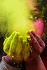 HOLI - FESTIVAL OF COLORS (Arunabha Kundu) Tags: people travel place color portrait festival culture ngc holi eye splash face