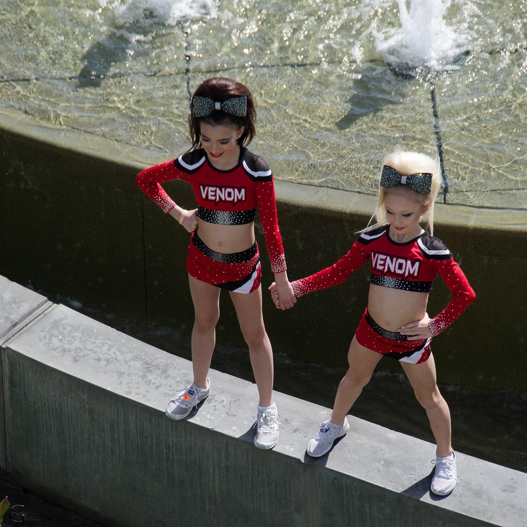cheerleader Young teen girl