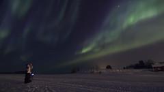 IMG_5624 (lucas.demierre) Tags: finlande finland lapland laponie auroreboréale northernlight aurora nature sky nightsky nightlight star ciel cielnocturne nuit night étoiles