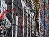 Wall Sideways (Robert Cowlishaw (Mertonian)) Tags: graffiti exploring urban gothic wall urbanwalk robertcowlishaw canonpowershotg1xmarkiii markiii g1x powershot canon colours colors brickwall brick mertonian sideways