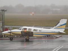 EI-BSL Piper Seneca 34 Private (Aircaft @ Gloucestershire Airport By James) Tags: gloucestershire airport eibsl piper seneca 34 private egbj james lloyds