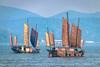 Ships Sailing In Taihu Lake, Yuantouzhu, Wuxi, Jiangsu, China (Feng Wei Photography) Tags: yuantouzhu traveldestinations laketai asia lake hill china ship beautyinnature travel taihu jiangsu sail chinese tourism wuxi scenicsnature cn