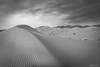 MERZOUGA DUNES (_Pablete_) Tags: merzouga dunes sand desert marocco bw