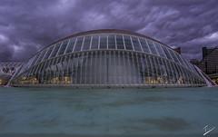 Hemisferic, Ciudad de las Artes y las Ciencias, Valencia (jcfasero) Tags: hemisferic sony a6000 valencia ciudad artes ciencia street stphotographia color tormenta storm outdoor