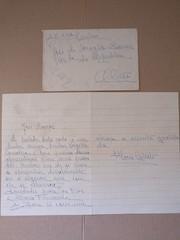 Carta de Apresentação (ACMateus) Tags: antiguidades coleccionismo velharias carta