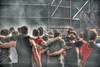 Brotherhood (stevefge) Tags: viking strongviking mud event endurance sport berendonck alverna nijmegen nederland netherlands nl nederlandvandaag reflectyourworld people candid girls smoke race