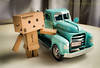 New Truck for the New Danbo (HTT) (13skies) Tags: truck toy danbo happytruckthursday pointing windowlight fun thursday singleshothdr