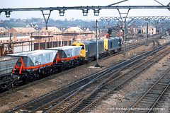 15/04/1983 - Darnall, Sheffield, South Yorkshire. (53A Models) Tags: britishrail class20 20053 20032 diesel freight darnall sheffield southyorkshire train railway locomotive railroad