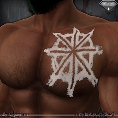 [ new release – aesthetic warpaint [ chaos ] ([ sithas ]) Tags: aesthetic applier chaos chest fantasy newrelease niramyth release roleplay roleplaying rp secondlife sl thesanguinetree war warpaint