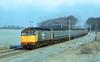 19870112 Scan1740 47348 1C77 Littlebury (Bill Atkinson2) Tags: littlebury essex west anglia 47348 the fenman class 47