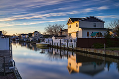 Evening (Bob90901) Tags: evening lindenhurst newyork longisland canal longexposure sunset spring rpg90901 canon 6d canonef2470mmf28liiusm filter lee bigstopper nd10 neutraldensity 09gradnd graduatedneutraldensity nd gradnd sky water clouds 2016 april 1918