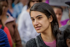 087 march for our lives-79 (mychannelmj) Tags: d7200 mychannelmj nikon tamron dslr digital dx noflash flashoff louisville colorado outdoor natural sunlight daytime bokeh fun youth cool people group crowd marchforourlives denver 2018 enough protest girl woman gorgeous face pretty cute beautiful brunette