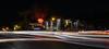 6TH & ONION (-Dons) Tags: austin texas unitedstates night tx usa corner revelry thebrixton street east6thstreet 6thstreet sixthstreet onionstreet lighttrails sign intersection tree explore