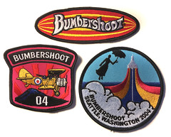 Bumbershoot Woven Patches, 2004