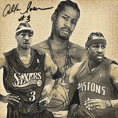 72 - Allen Iverson (Bob Smerecki) Tags: smackman snapnpiks robert bob smerecki sports art digital artwork paintings illustrations graphics oils pastels pencil sketchings drawings virtual painter 6 watercolors smart photo editor colorization akvis sketch drawing concept designs gmx photopainter 28 draw hollywood walk fame high contrast images movie stars signatures autographs portraits people celebrities vintage today metamorphasis 002 abstract melting canvas baseball cards picture collage jixipix fauvism infrared photography colors negative color palette seeds university michigan football ncaa mosaic