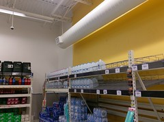 The theme for today is (disappearing) yellow (l_dawg2000) Tags: 2000 2000s christmas departmentstore discountstore grocery holidays holidays2013 mississippi ms olivebranch retail store supercenter wallyworld walmart xmas unitedstates usa