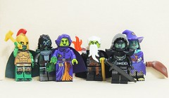 Green and Mean (Space Glove) Tags: lego minifigure green figbarf