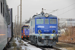 PKP IC EP07-1013 , Wrocław Główny depot 22.03.2018 (szogun000) Tags: wrocław poland polska railroad railway rail pkp shed depot locomotiveshops maintenancefacility wrocławgłówny engine locomotive lokomotywa локомотив lokomotive locomotiva locomotora electric elektrowóz ep07 ep071013 pkpic pkpintercity dolnośląskie dolnyśląsk lowersilesia canon canoneos550d canonefs18135mmf3556is