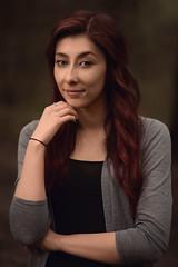 Julia (GideonAJWay) Tags: red speedlight flash nikon strobe portrait retouch pose besuty