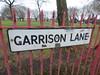 Garrison Lane, Bordesley - road sign (ell brown) Tags: birmingham westmidlands england unitedkingdom greatbritain bordesley smallheath tree trees garrisonlane sign garrisoncircus garrisonlanepark roadsign